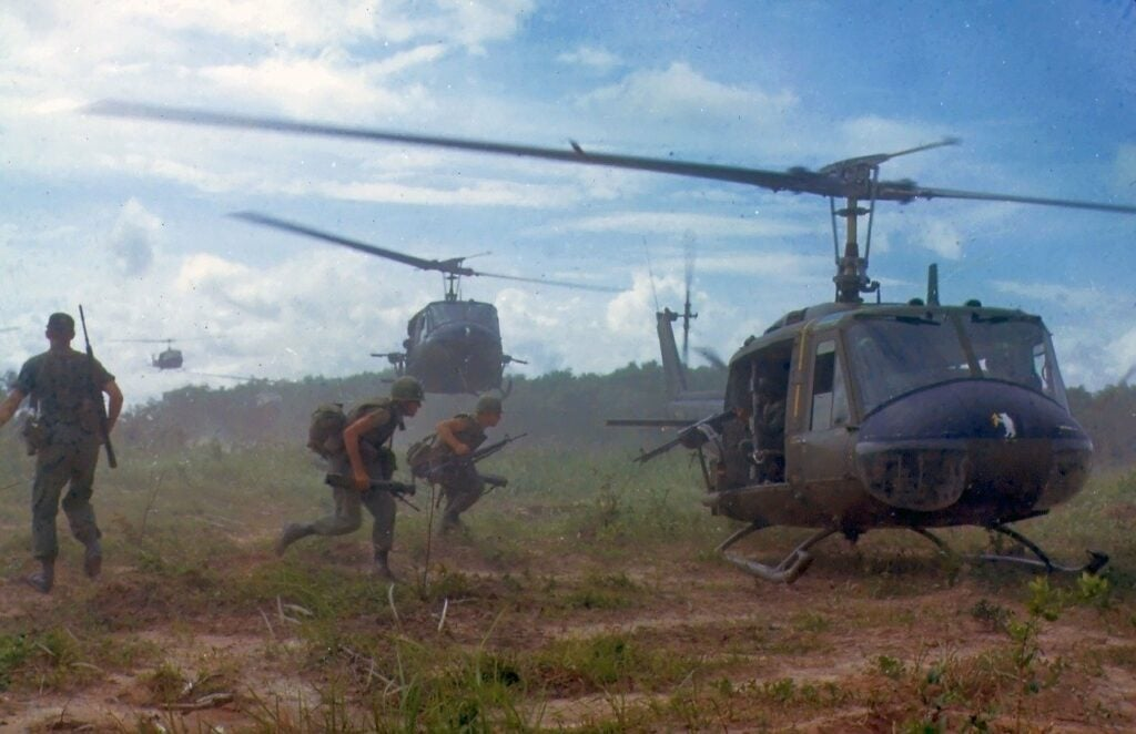Soldiers from vietnam draft