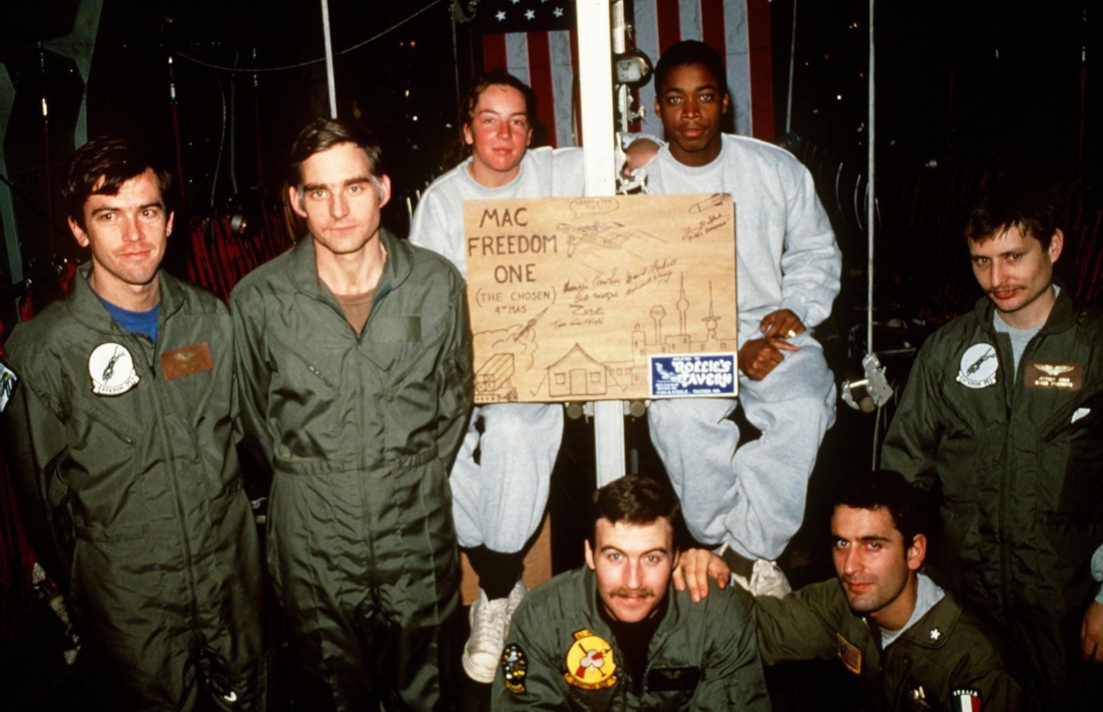 prisoners of war during Desert Storm