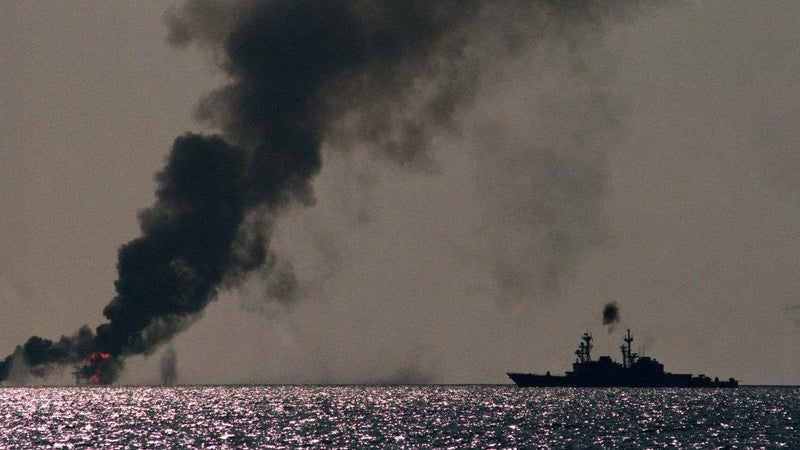 4 times Iran's navy got beat down in the Persian Gulf