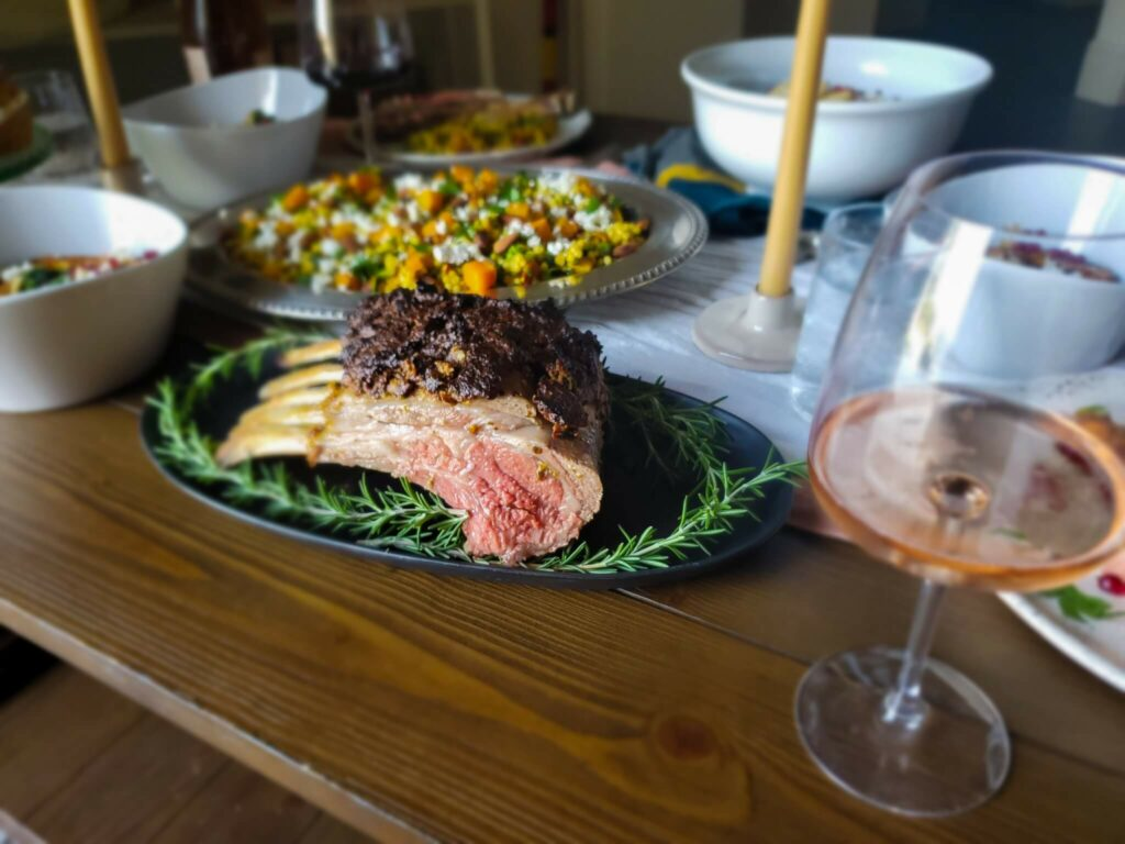 Modern-day twist on Thanksgiving dinner
