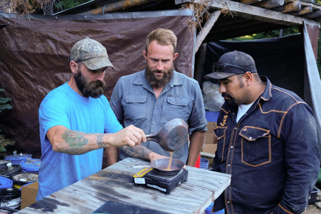Discovery Channel's #1 show features a team of military gold miners