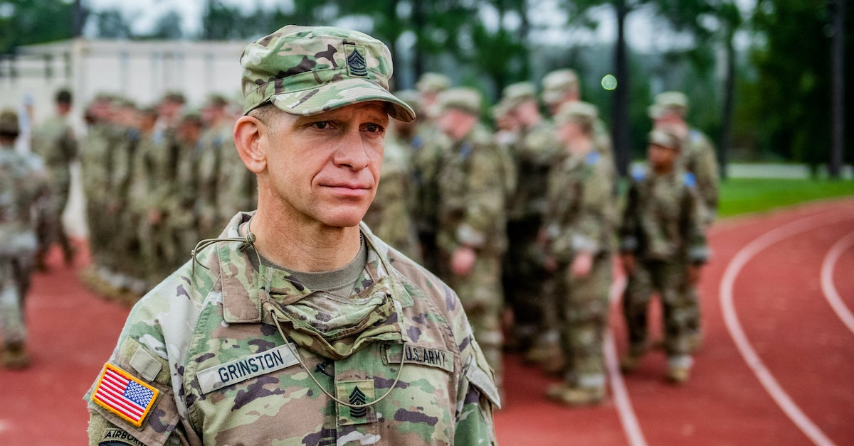 www.wearethemighty.com: MIGHTY 25: Meet Michael Grinston, the Sergeant Major of the Army committed to getting it right