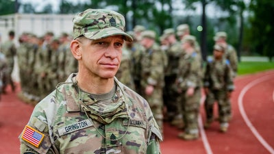 MIGHTY 25: Meet Michael Grinston, the Sergeant Major of the Army committed to getting it right