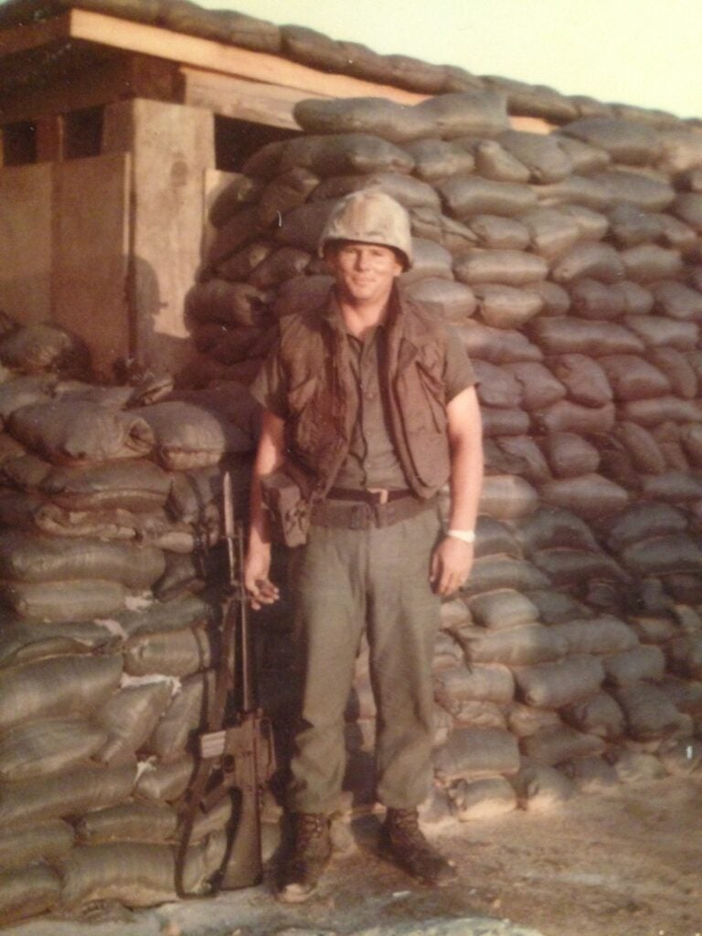 Lammons while deployed to Vietnam, where he came in contact with Agent Orange.