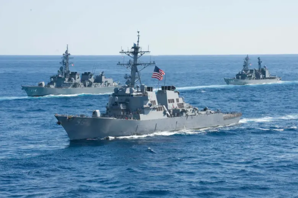 Pacific allies conduct exercise Keen Sword 21
