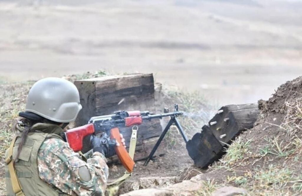 The Artsakh War brought about Armenia's first all-women military unit