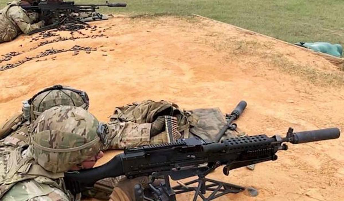 US Military News • U.S. Army Soldiers Live-Fire Training with the M240B Machine Gun April 23, 2021
