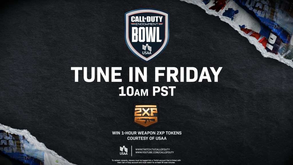 This Friday, Call of Duty players are giving back to veterans