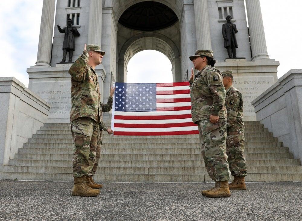 reenlistment oath
