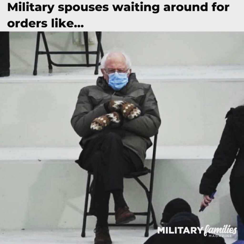 Military romance … in memes