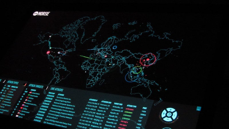 norse cyber attack map