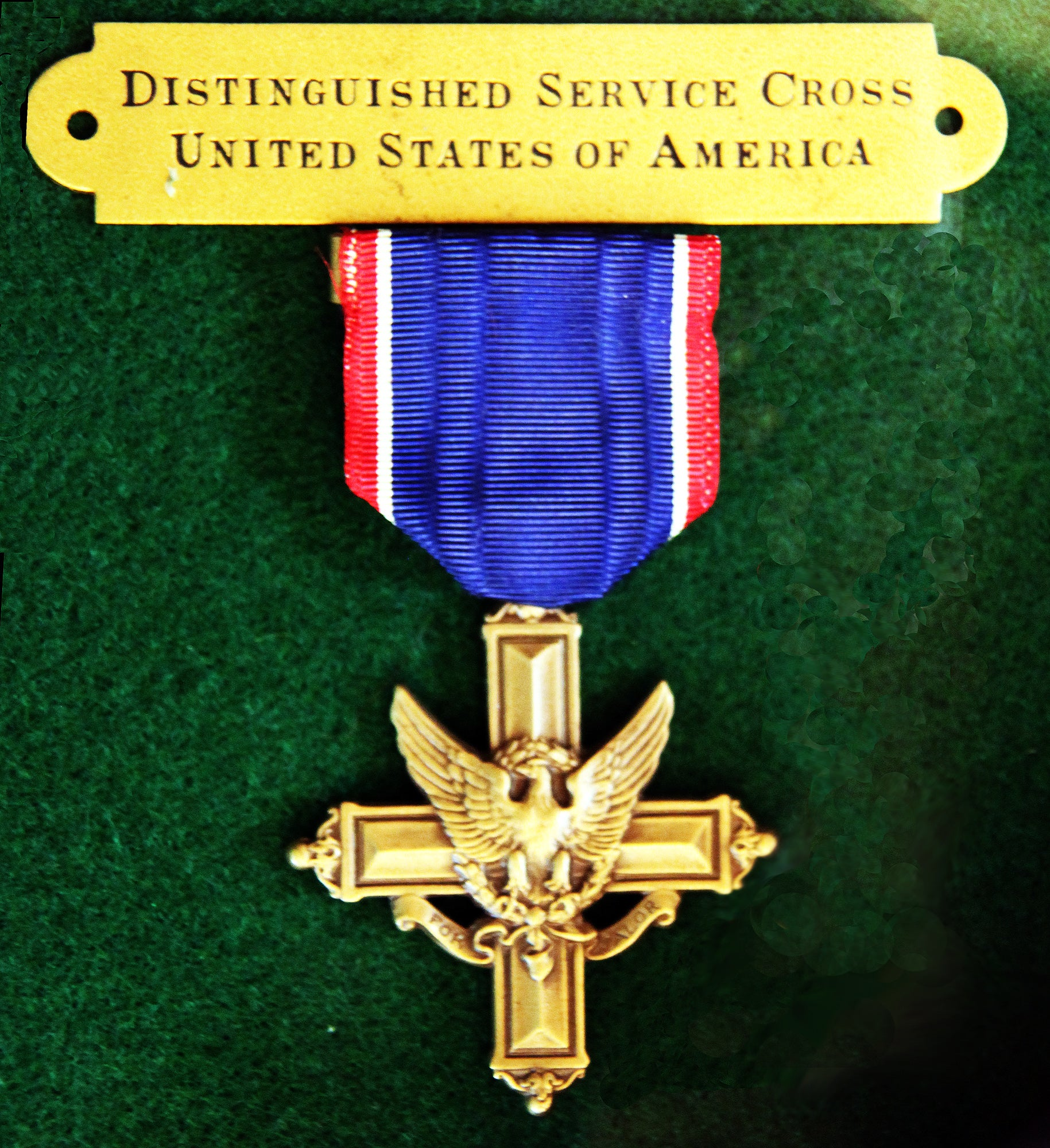 Chin received the distinguished service cross towards the end of his life