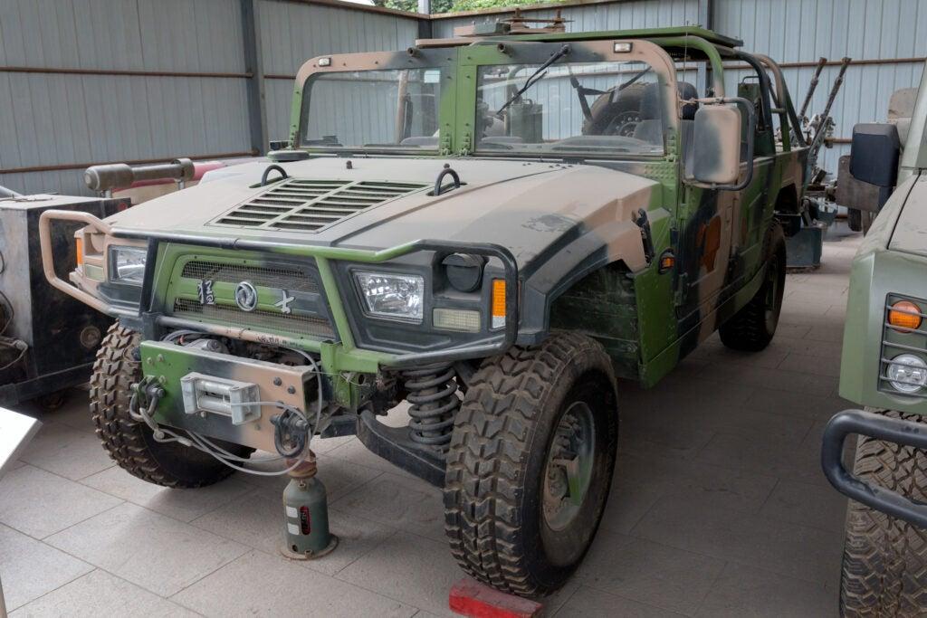 Chinese military vehicle