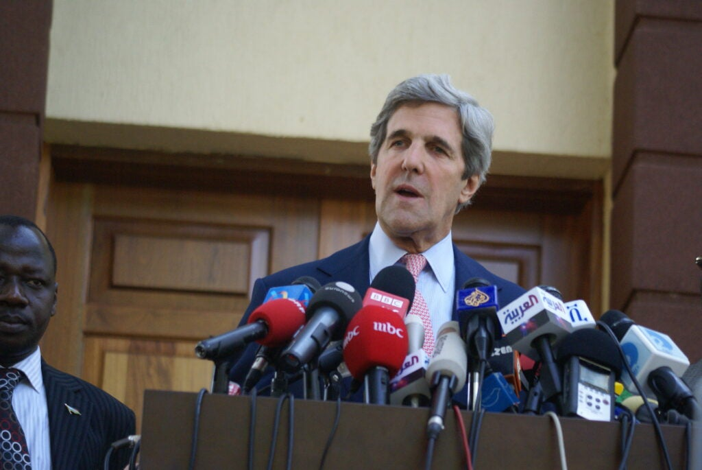 John Kerry is a former naval officer turned politician