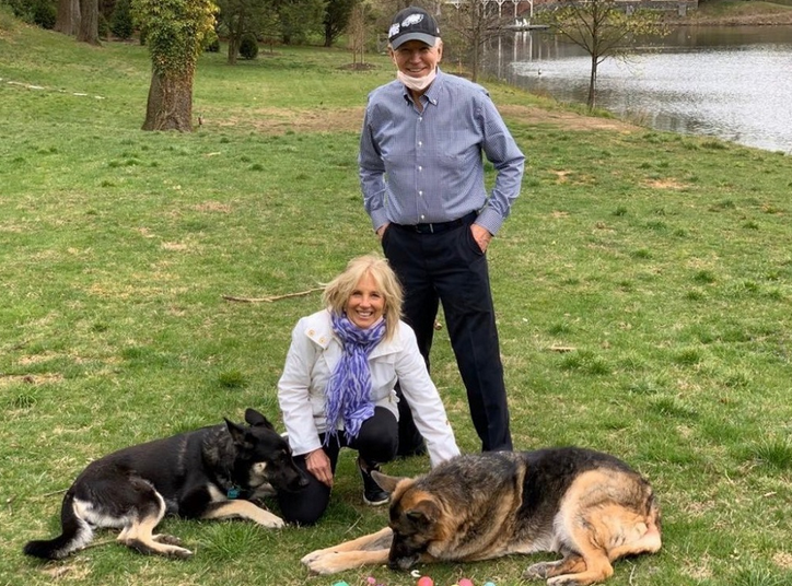 InDOGuration celebrates the first White House shelter dog, Major Biden