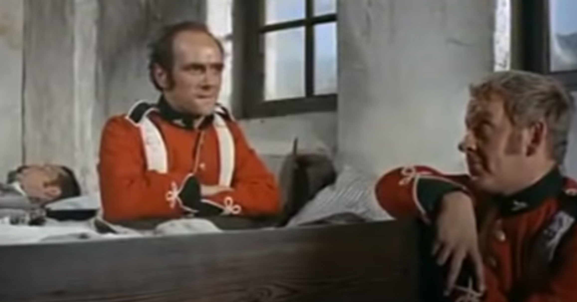 Screenshot from the Zulu trailer