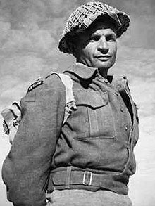 Charles Upham during his time of service. He would later go on to earn a Victoria Cross.