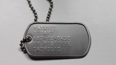 This is how dog tags got their name