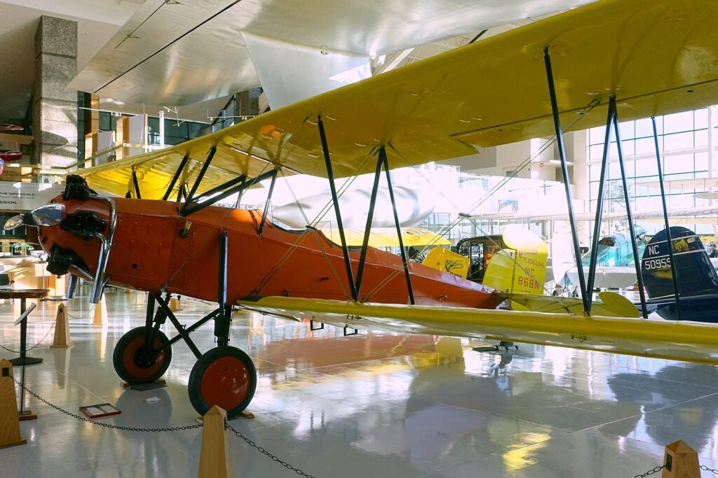 A plane similar to the one used by Arthur Tien Chin