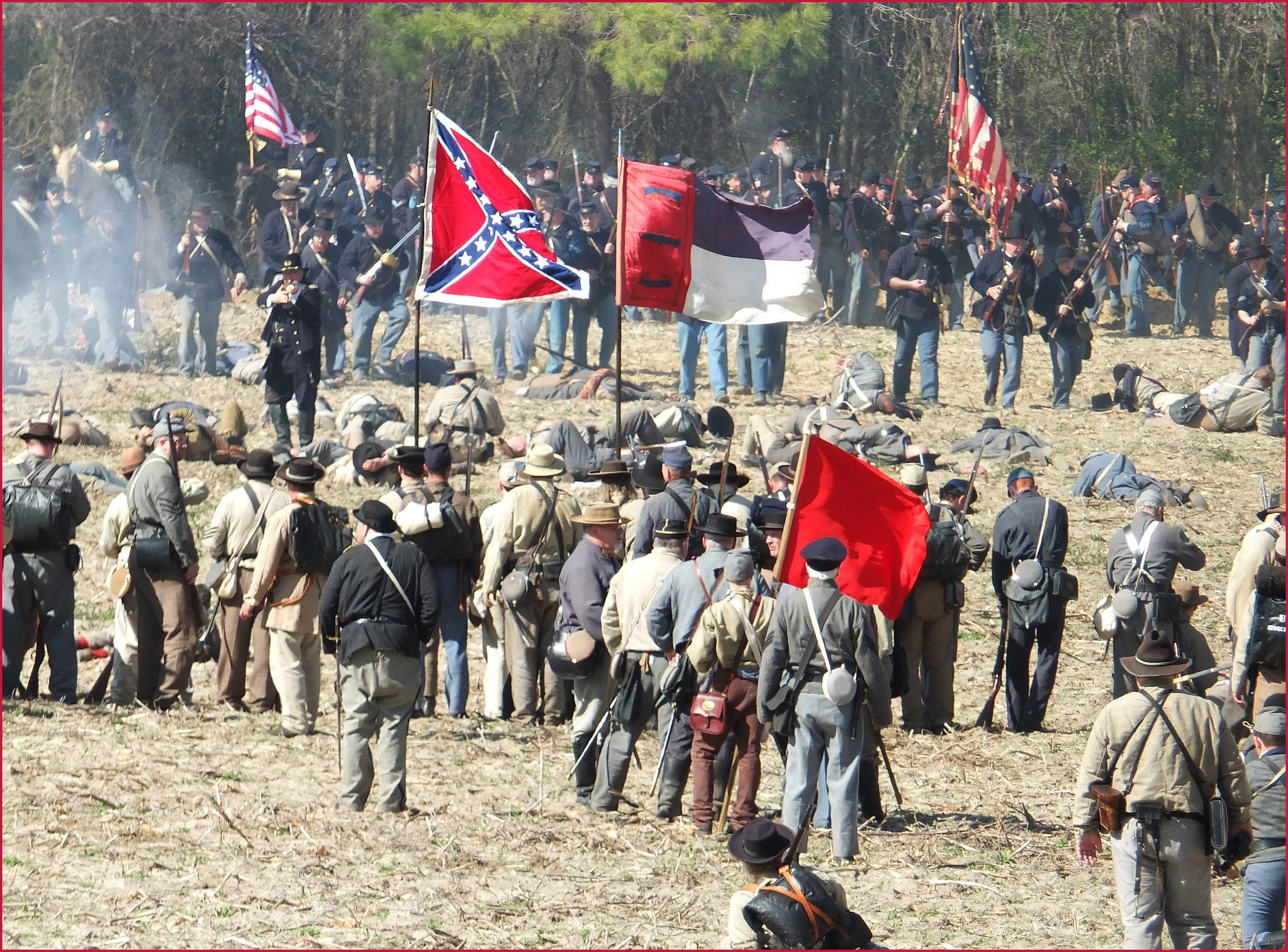 civil war battle flag