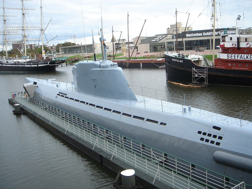 German Navy U-boat