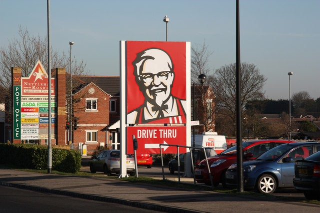 colonel sanders sign