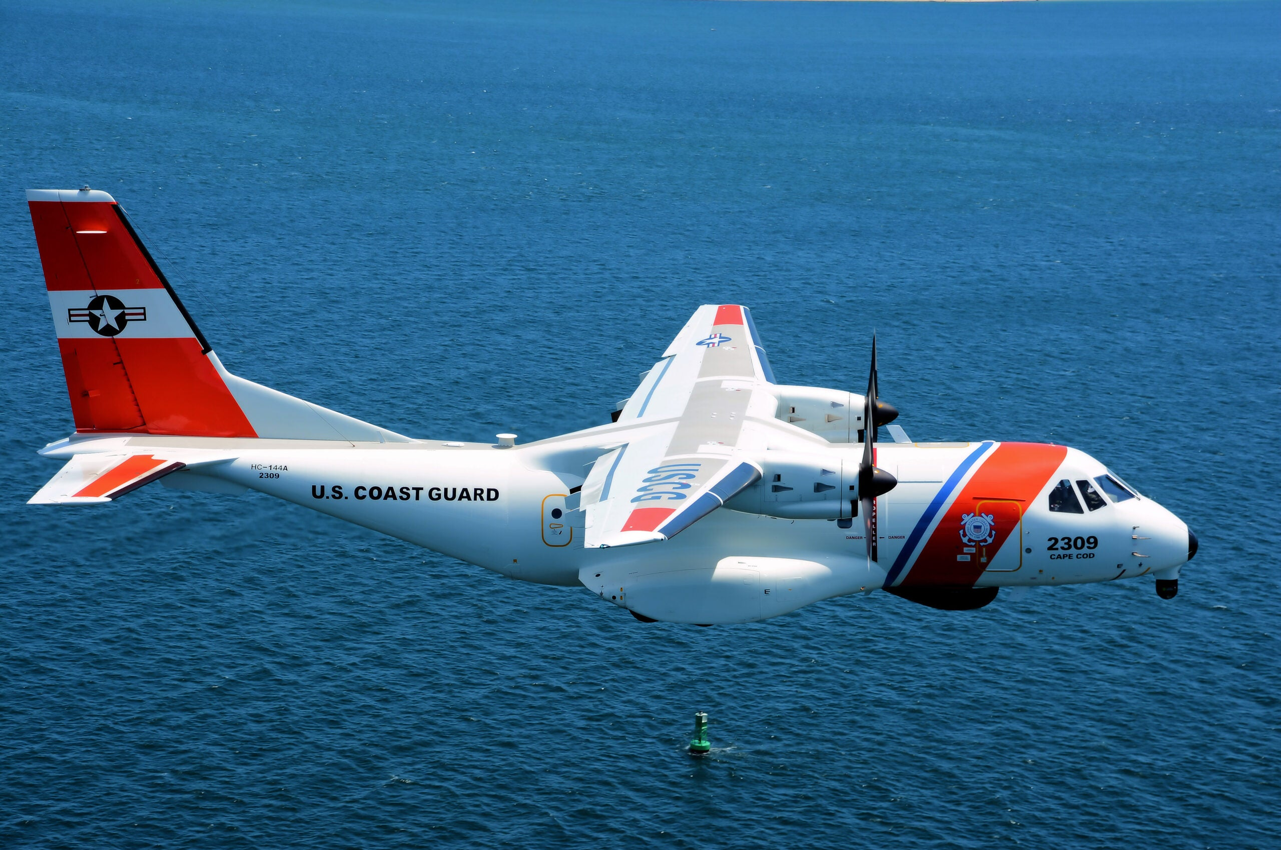 coast guard performing a rescue