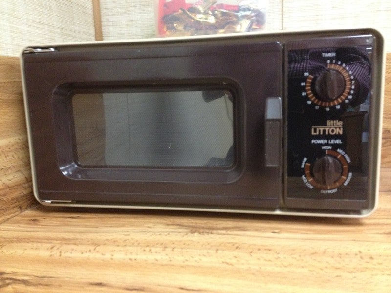 The microwave was invented by the military
