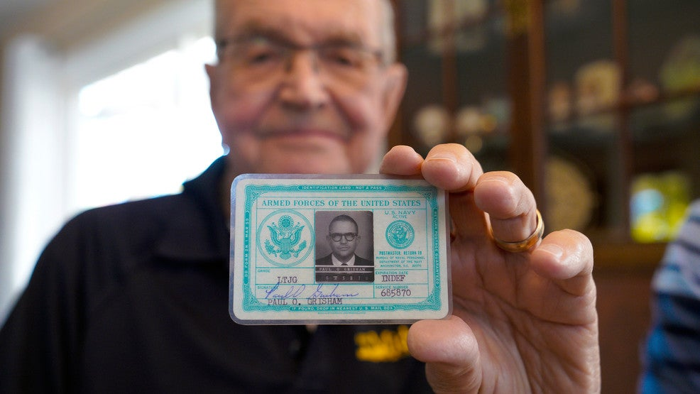 Navy sailor who found his wallet after over 50 years