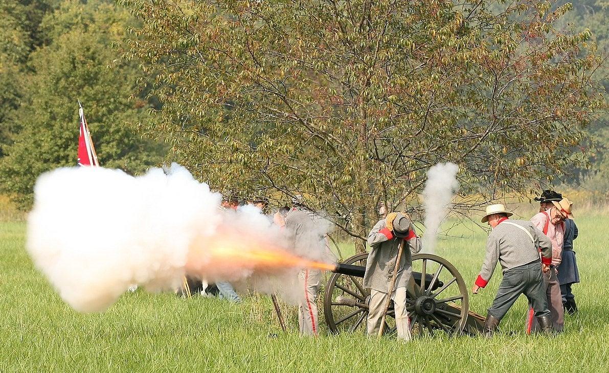 civil war spy reenactment