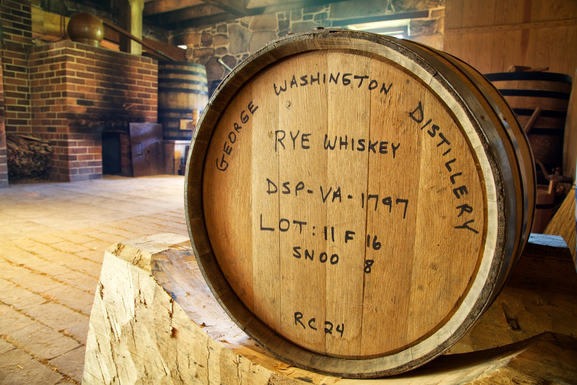george washington whiskey distillery