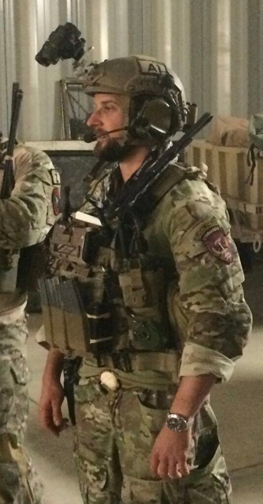 Jason Kasper during his active service