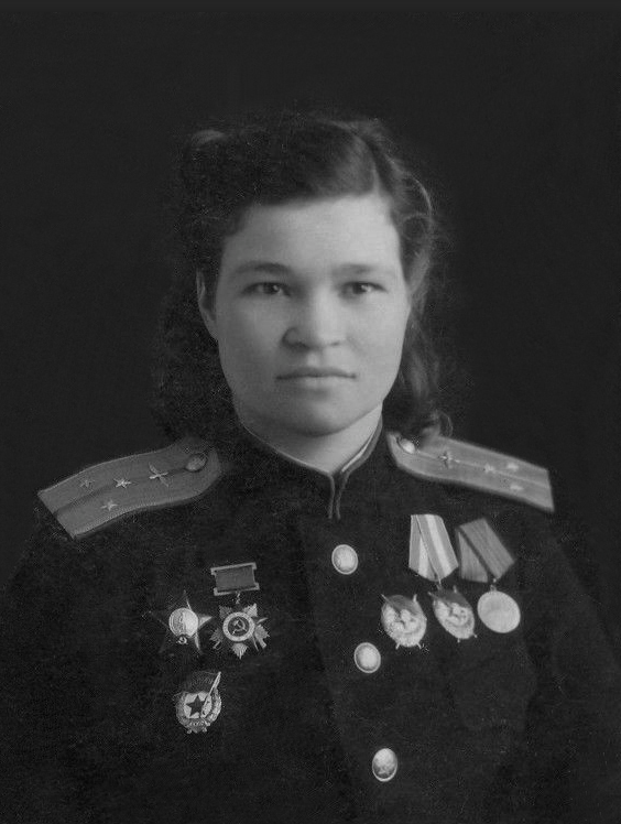 Irina Sebrova, one of the leaders of the Night Witches