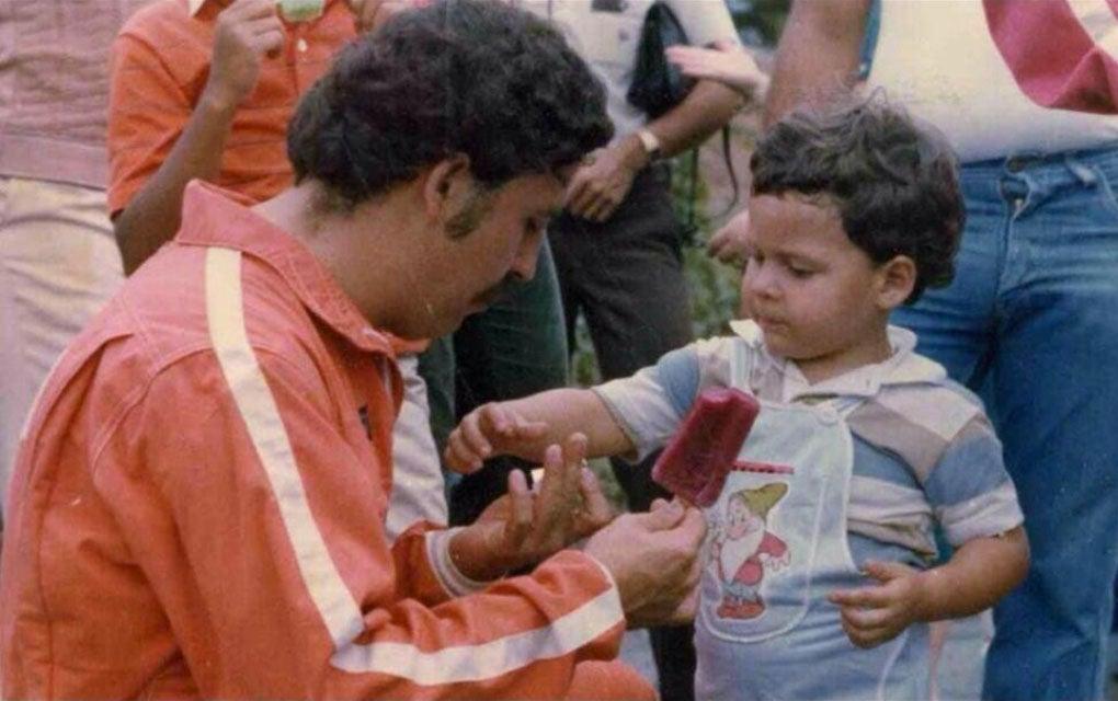 Pablo Escobar, a drug lord
