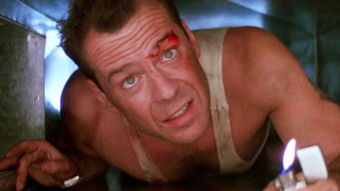 screenshot of John McClane from original Die Hard trailer