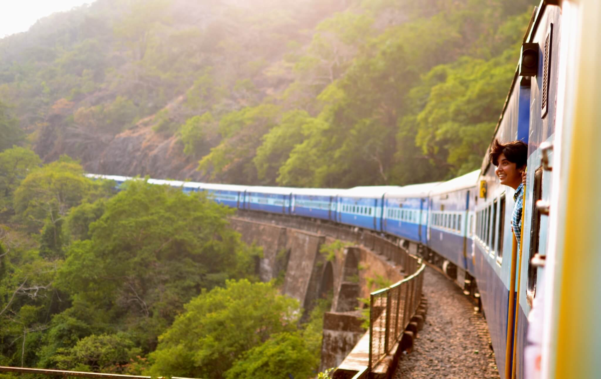 travel image of a train