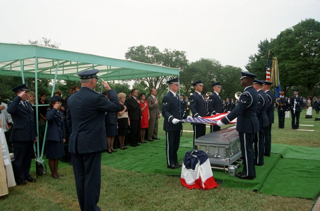 funeral of an unknown soldier michael blassie