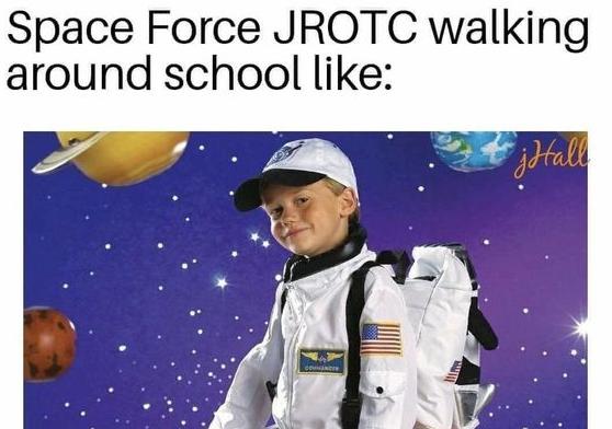 Space force meme