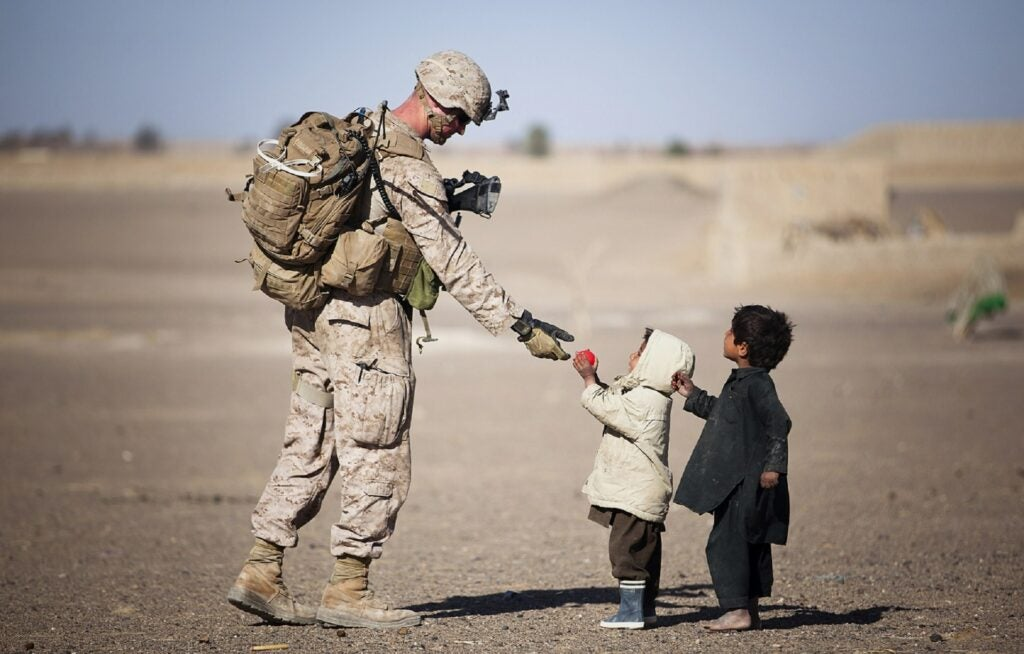 military service members with children