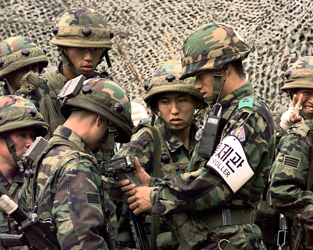 Korean commandos planned to infiltrate North Korea