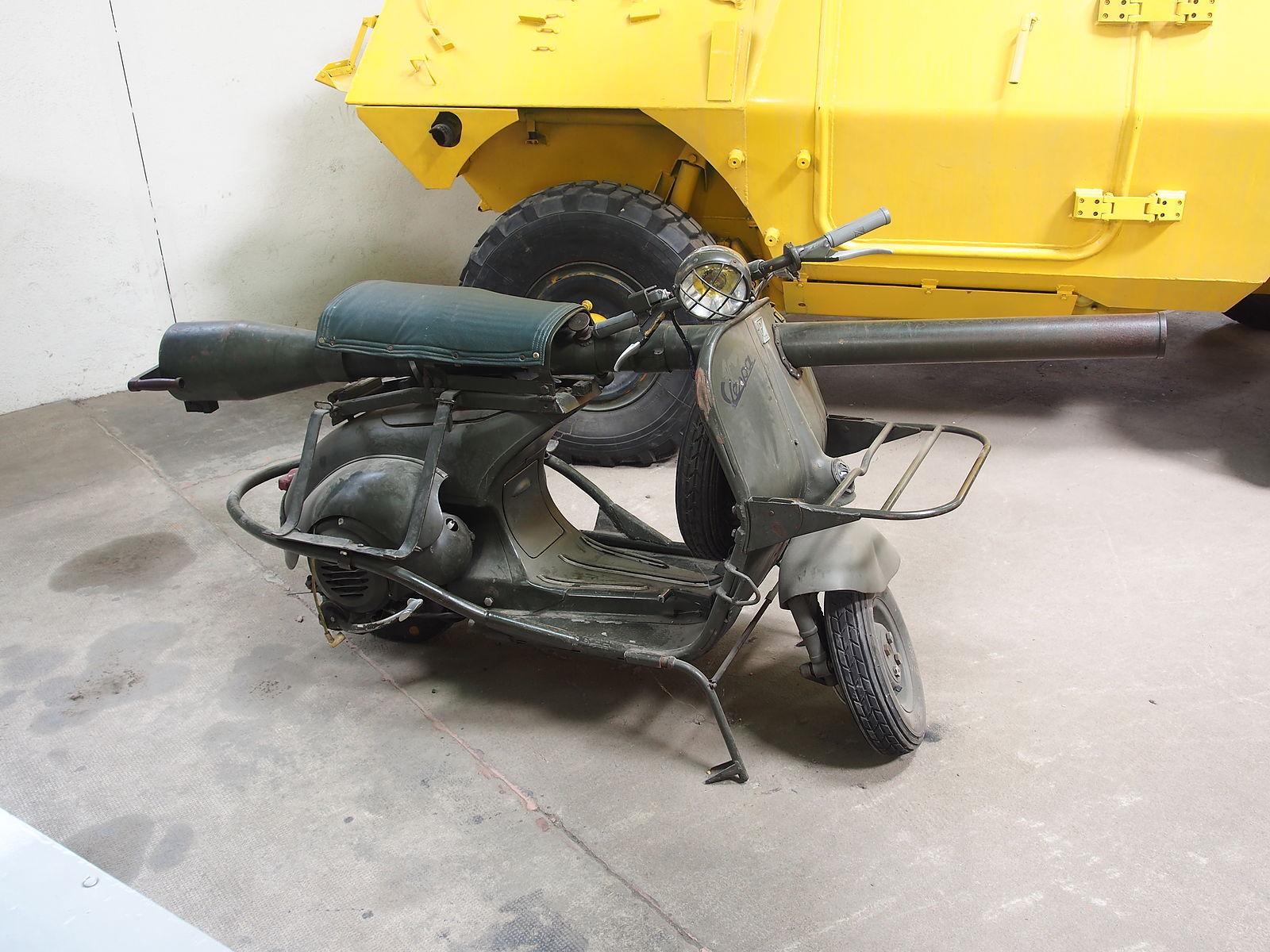 vespa taps scooter