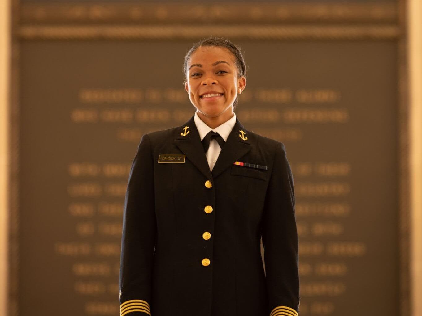 first Black female commander