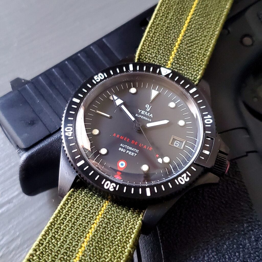 This trendy watch strap was invented by French combat divers