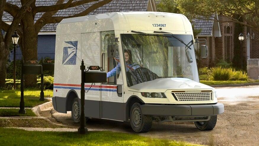 oshkosh usps truck