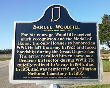 samuel woodfill memorial