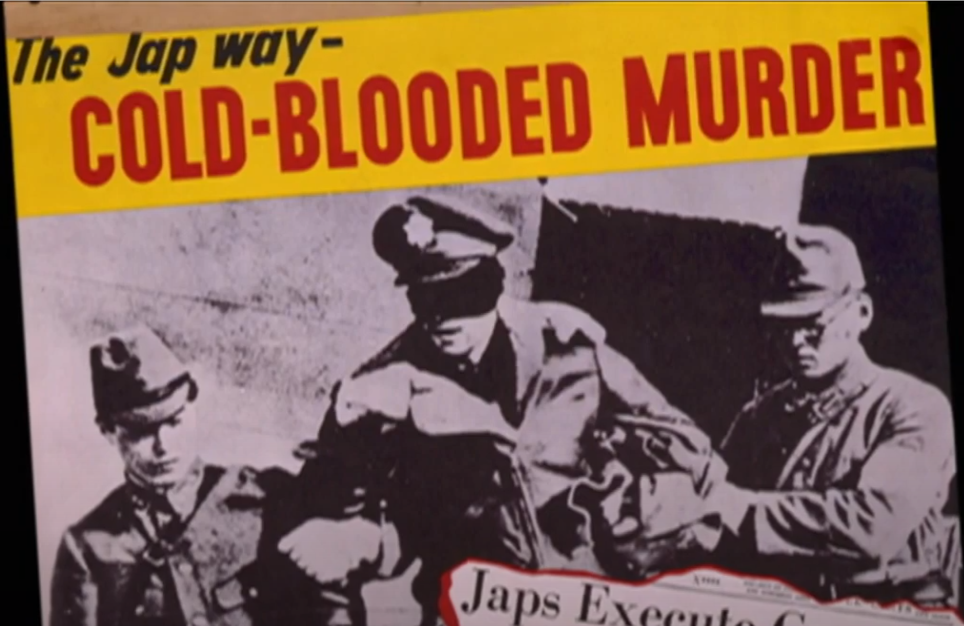 propaganda about Japan during WWII, which influenced opinions in Oregon