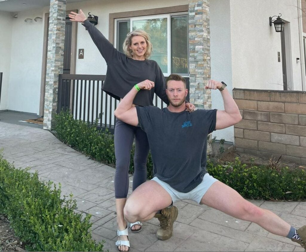 financial fitness allowed this couple to reduce debt