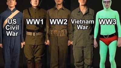 These 11 memes perfectly describe military uniforms