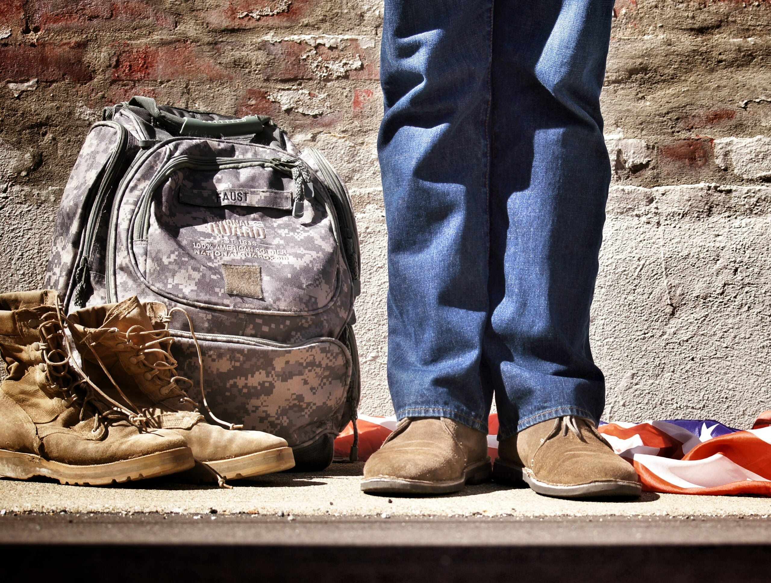 veteran returning to civilian life