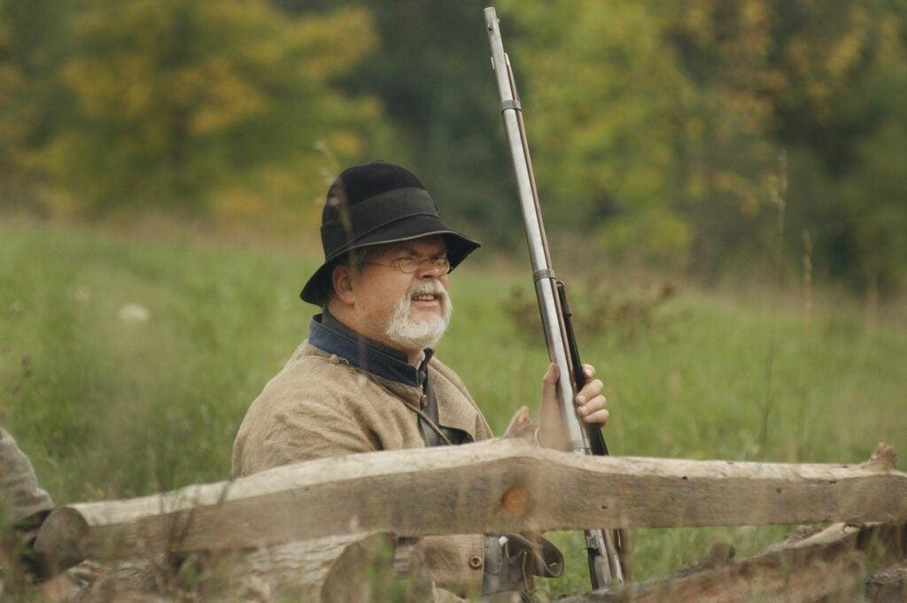 first battle civil war reenactor
